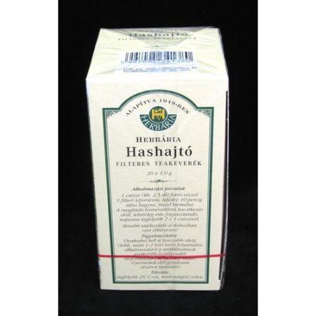 Hashajtó tea filteres 20x1g Herbária