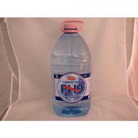 Füredi ion enyhén lúgosított ivóvíz pH 9 5 l