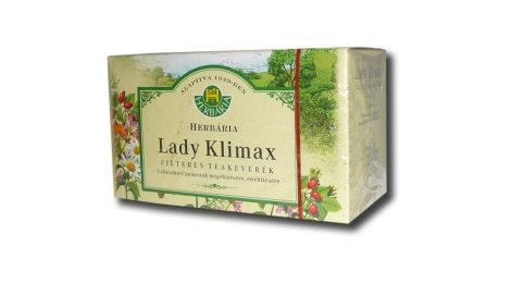 Herbária Lady Klimax filteres teakeverék 20x