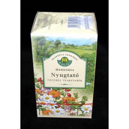Nyugtató tea filteres Herbária 20x