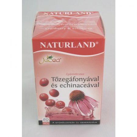Naturland Gyümölcstea tőzegáfonyával és echinaceával 40 g