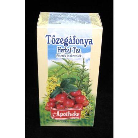Apotheke Tőzegáfonya tea filteres 20x