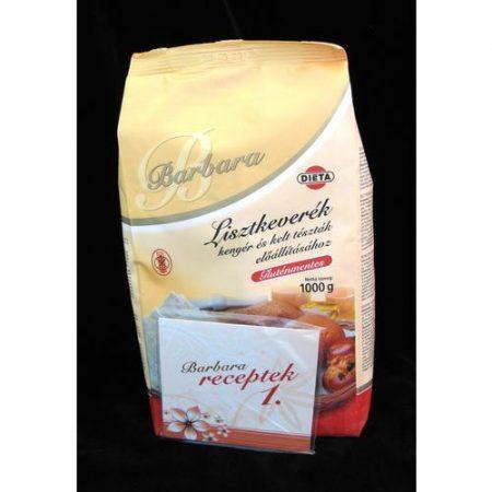 Barbara gluténmentes lisztkeverék kenyér és kelt tészta 1 kg
