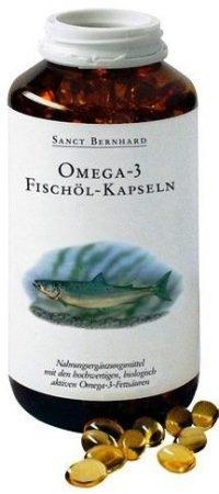Sanct Bernhard omega-3 halolaj kapszula 400x