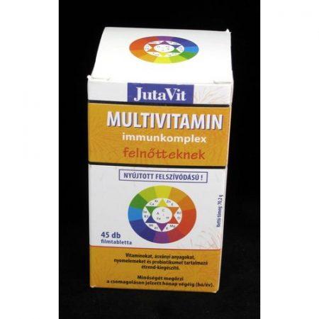 Jutavit Multivitamin felnőtt filmtabletta 45x