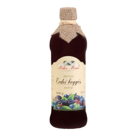 Méhes mézes erdei bogyós gyümölcs szörp 668 g