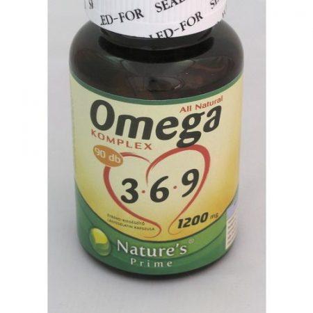 Omega 3-6-9 komplex kapszula – Nature's Prime 90x