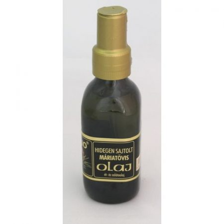 Solio hidegen sajtolt máriatövis olaj 100 ml