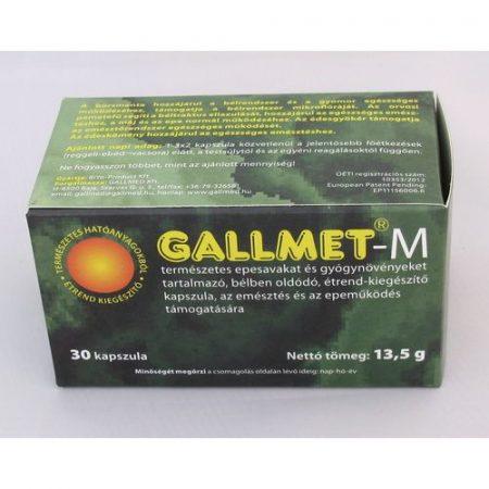 Gallmet-M természetes epesav kapszula 30x