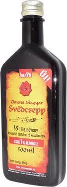 Jutavit svédcsepp 35 gyógyfüves 1% alkohol 500 ml