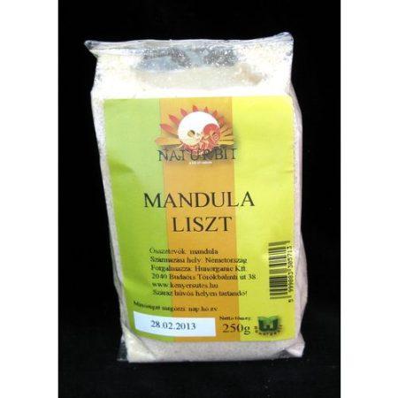 Mandulaliszt Naturbit 250 g