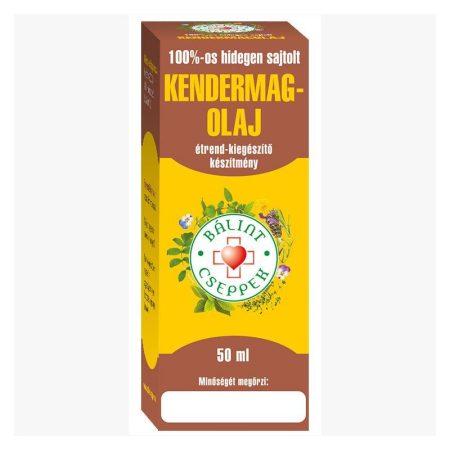 Bálint cseppek Kendermagolaj 100% 50 ml