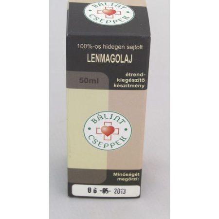 Bálint cseppek Lenmagolaj 100% 50 ml