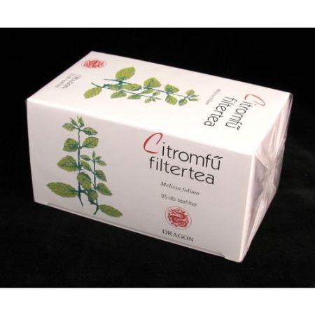 Citromfű tea filteres 25x1 g Golden Dragon 25 g